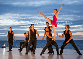 Fire Island Dance Festival 2014 Sara Mearns choreography by Joshua Bergasse photo by Whitney Browne
